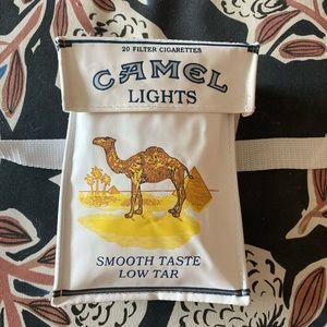 Vintage 90s Camel Lights box fanny pack belt bag